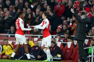 "Al final, los ""Gunners"" se impusieron 2-1 Foto:Getty Images"