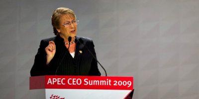 Tras su primer mandato, Bachelet asumió como secretaria general adjunta de las Naciones Unidas Foto:Getty Images