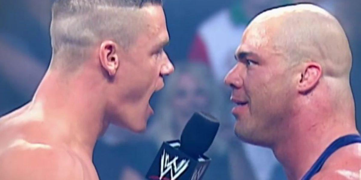 ¿Contra quién fue la primera pelea de las estrellas de la WWE?