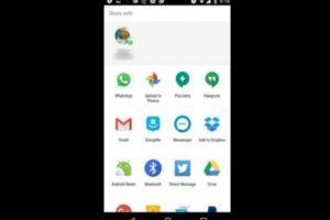 """4. """"Direct Share"""". Una forma más sencilla de compartir documentos o archivos en Android desde otras aplicaciones a sus contactos de WhatsApp y sin entrar en la plataforma. Foto:Tumblr.com"""