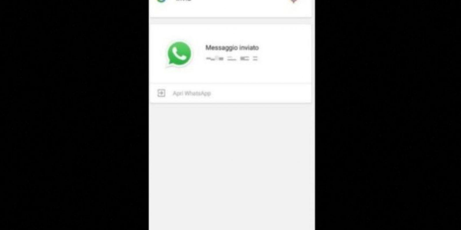 5. Dictados y envío de mensajes mediante Google Now en Android. Foto:Tumblr.com