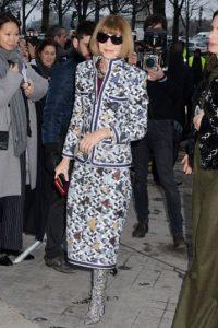 Hoy en día, personajes del mundo de la moda y celebridades conocen a Anna Wintour. Foto:vía Getty Images