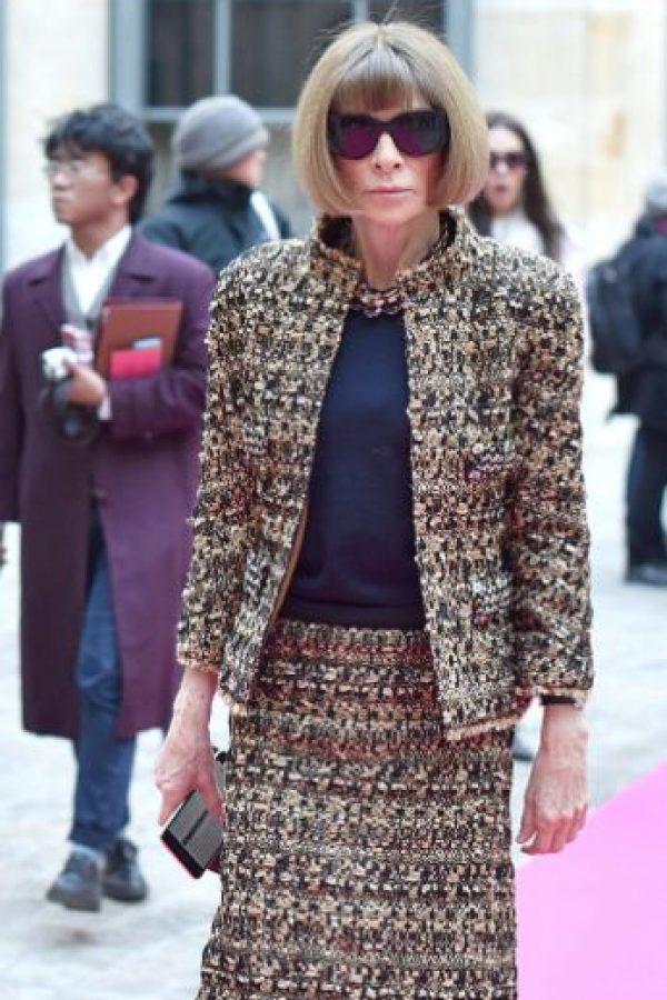 Editora en jefe de Vogue USA, el máximo referente de moda. Foto:vía Getty Images
