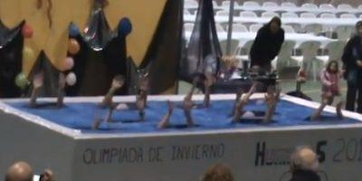 Ballet acuático Foto:Imgur