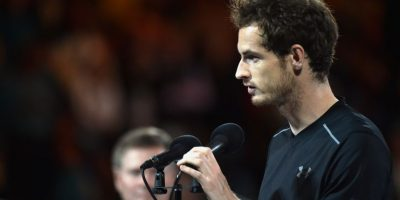 Andy murray cayó en la final ante Djokovic. Foto:AFP