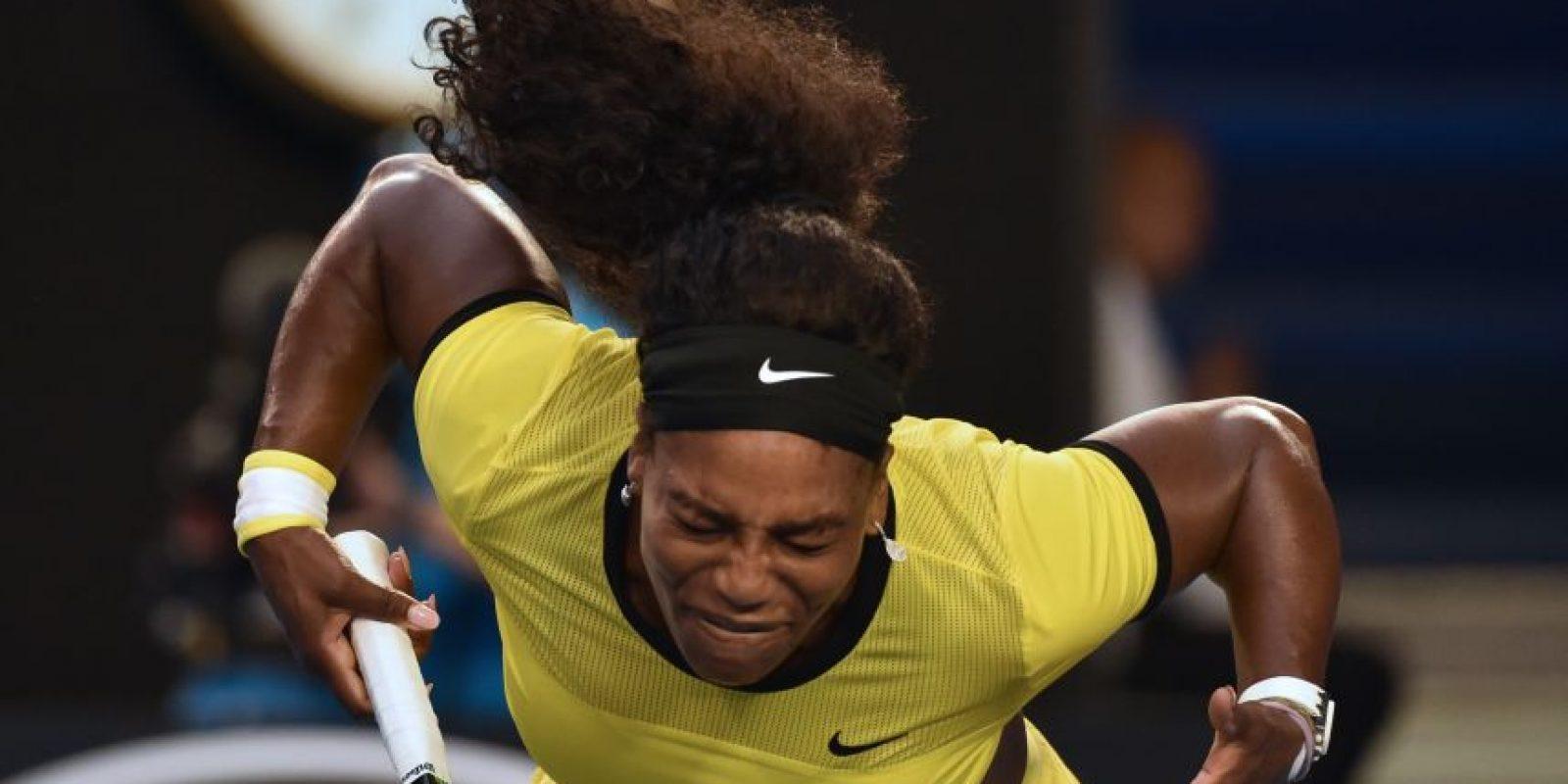 La tenista estadounidense cayó en la final. Foto:AFP