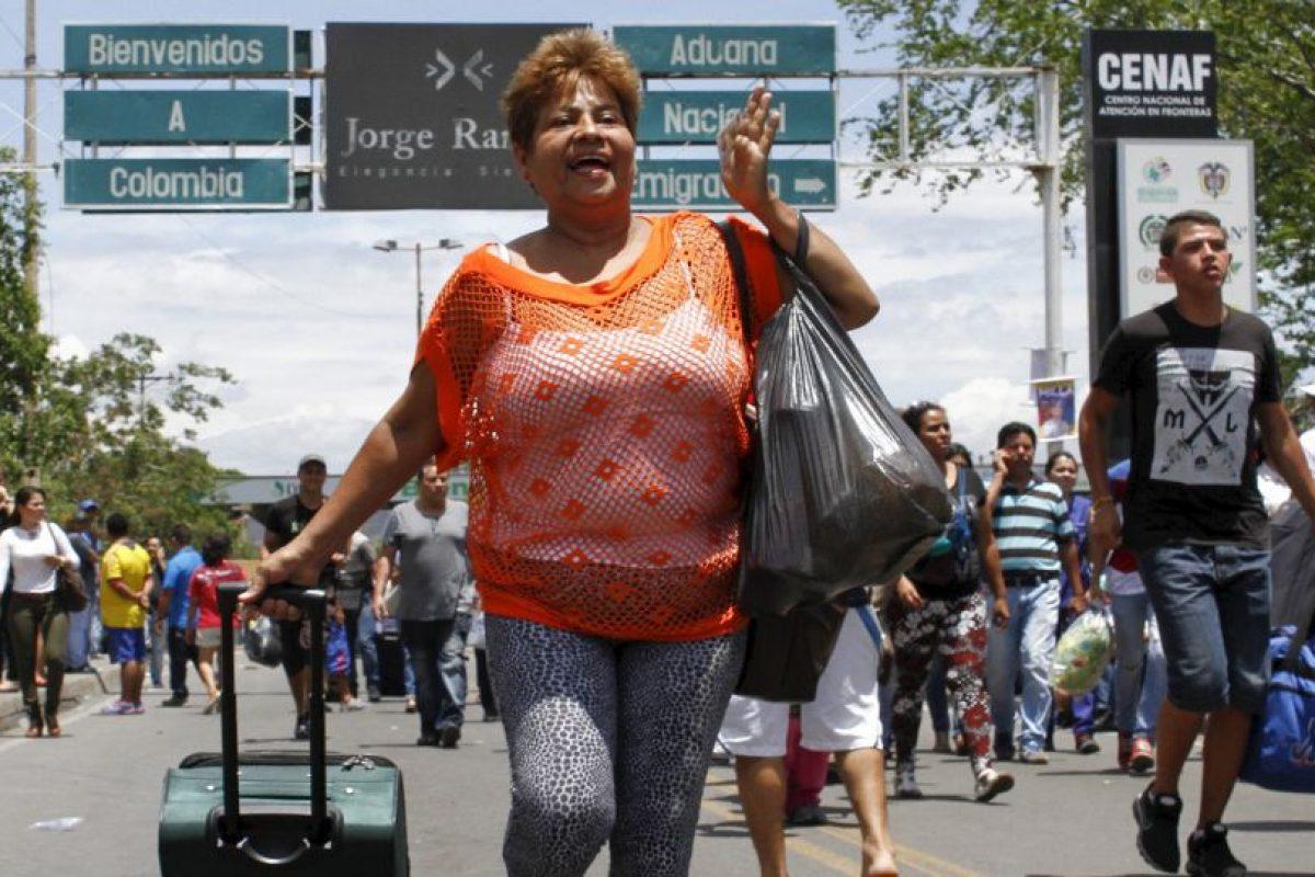 Las fronteras continúan cerradas en algunos estados de Venezuela Foto:AFP