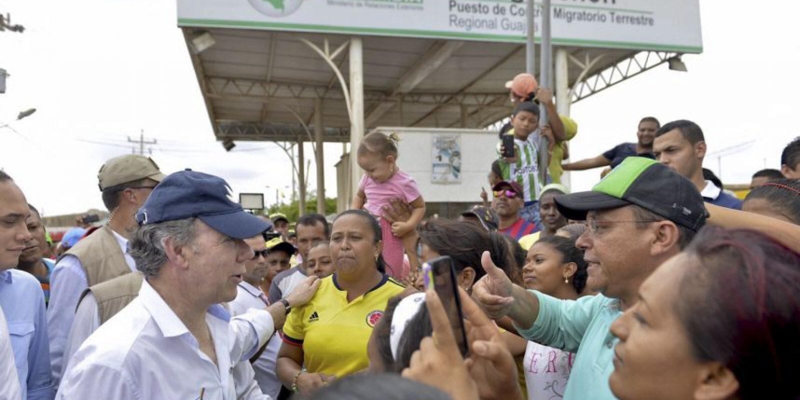 El origen del conflicto fronterizo entre Colombia y Venezuela Foto:AFP