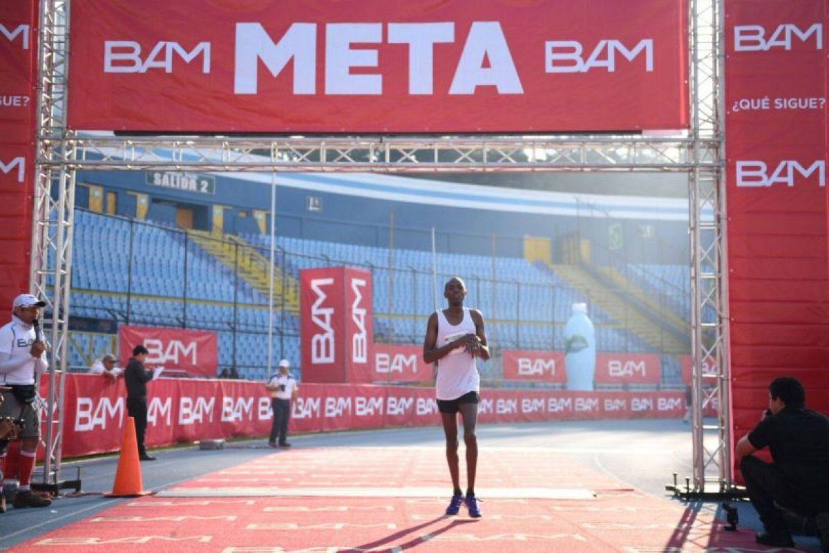 Chumo Elisha logró quedar en la segunda posición. Foto:Oliver de Ros
