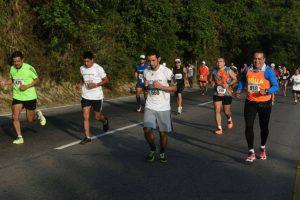 Miles de guatemaltecos entusiastas participaron en este evento deportivo. Foto:Oliver de Ros
