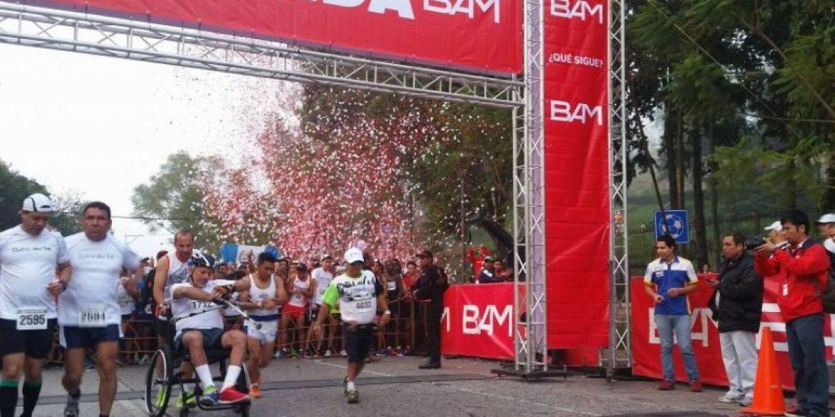 ¡Toma nota! Utiliza vías alternas por la medio maratón Max Tott