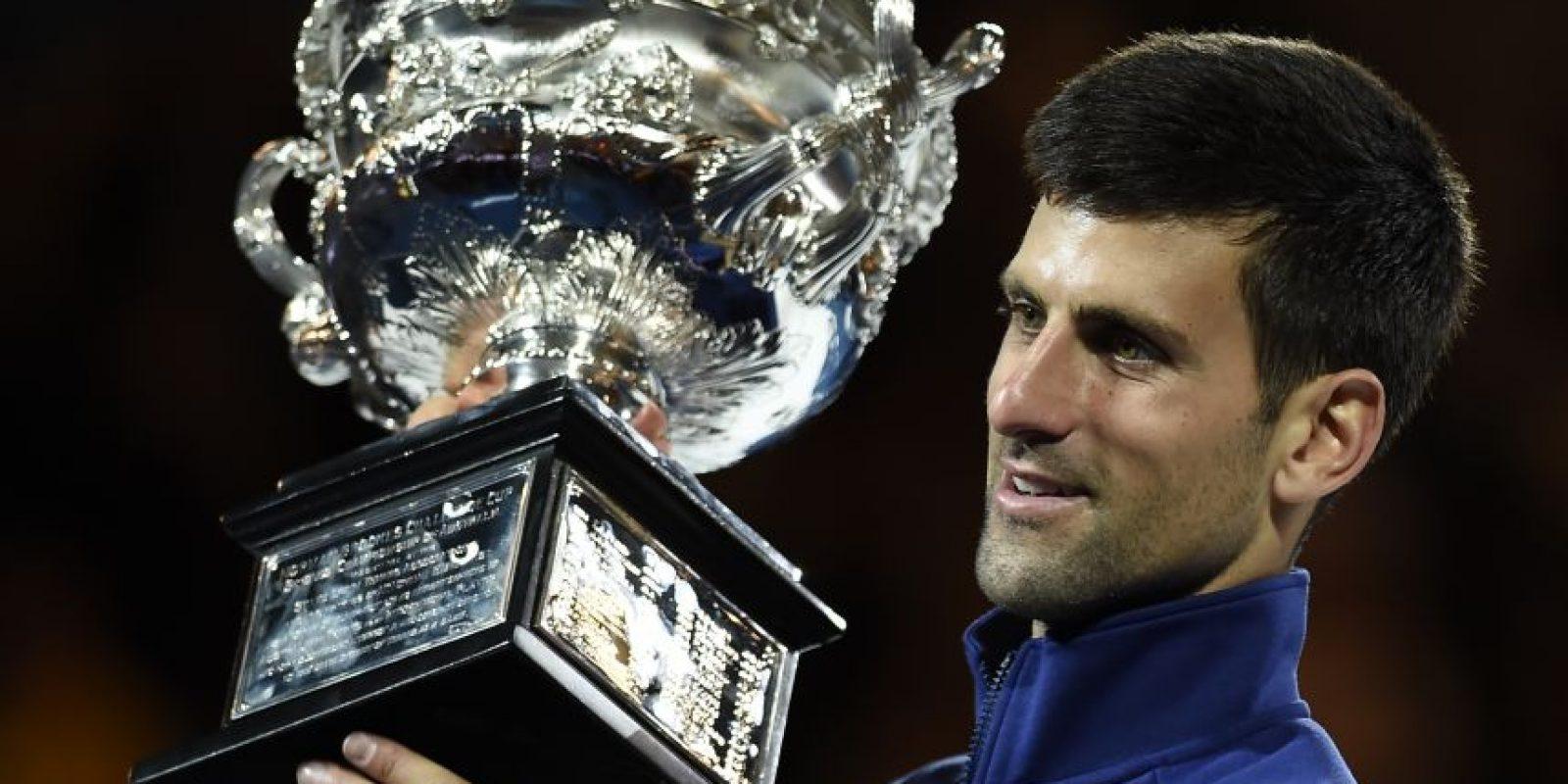 Tras un gran partido, Nole es campeón de Australia. Foto:AP