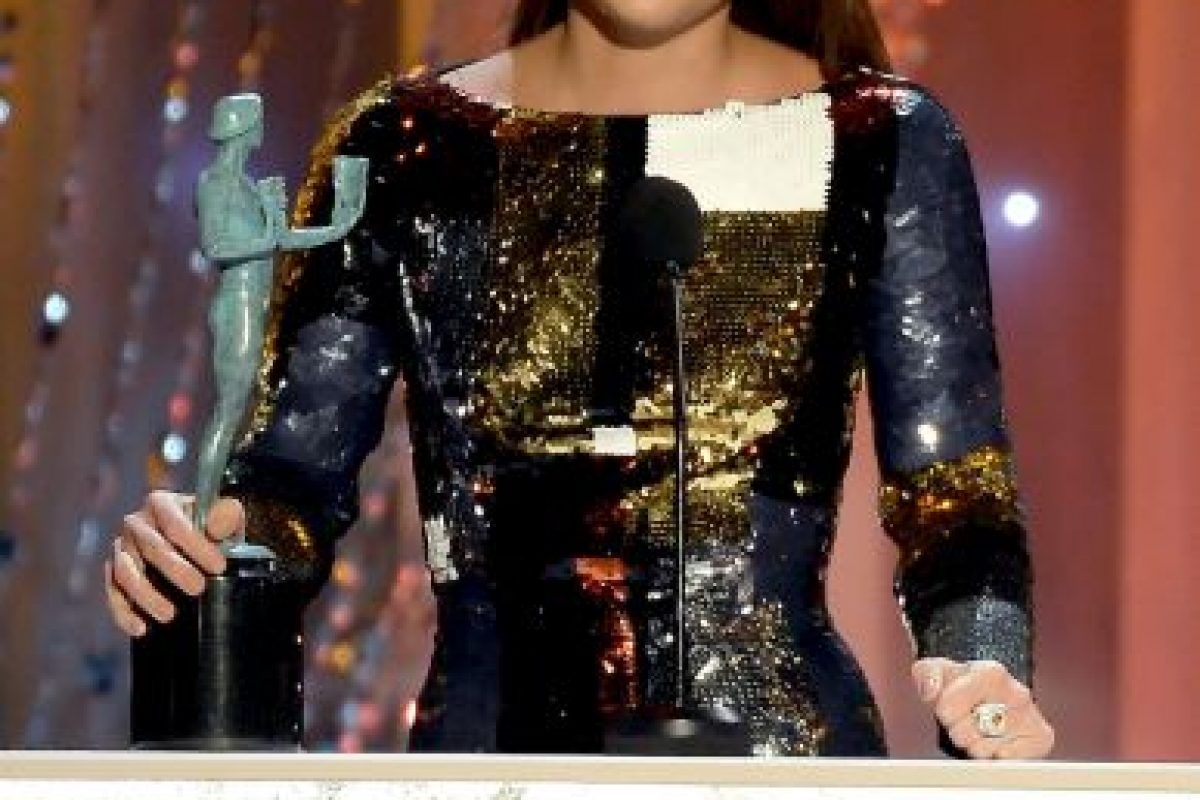 Alicia Vikander — La chica danesa; como Gerda Wegener. Foto:Getty Images