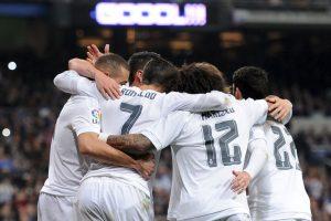 """Bajo el mando de """"Zizou"""" suman tres victorias por goleadas y un empate Foto:Getty Images"""