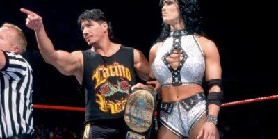 12. Eddie Guerrero y Chyna Foto:WWE