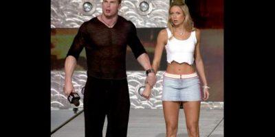 27. Test y Stacy Keibler Foto:WWE