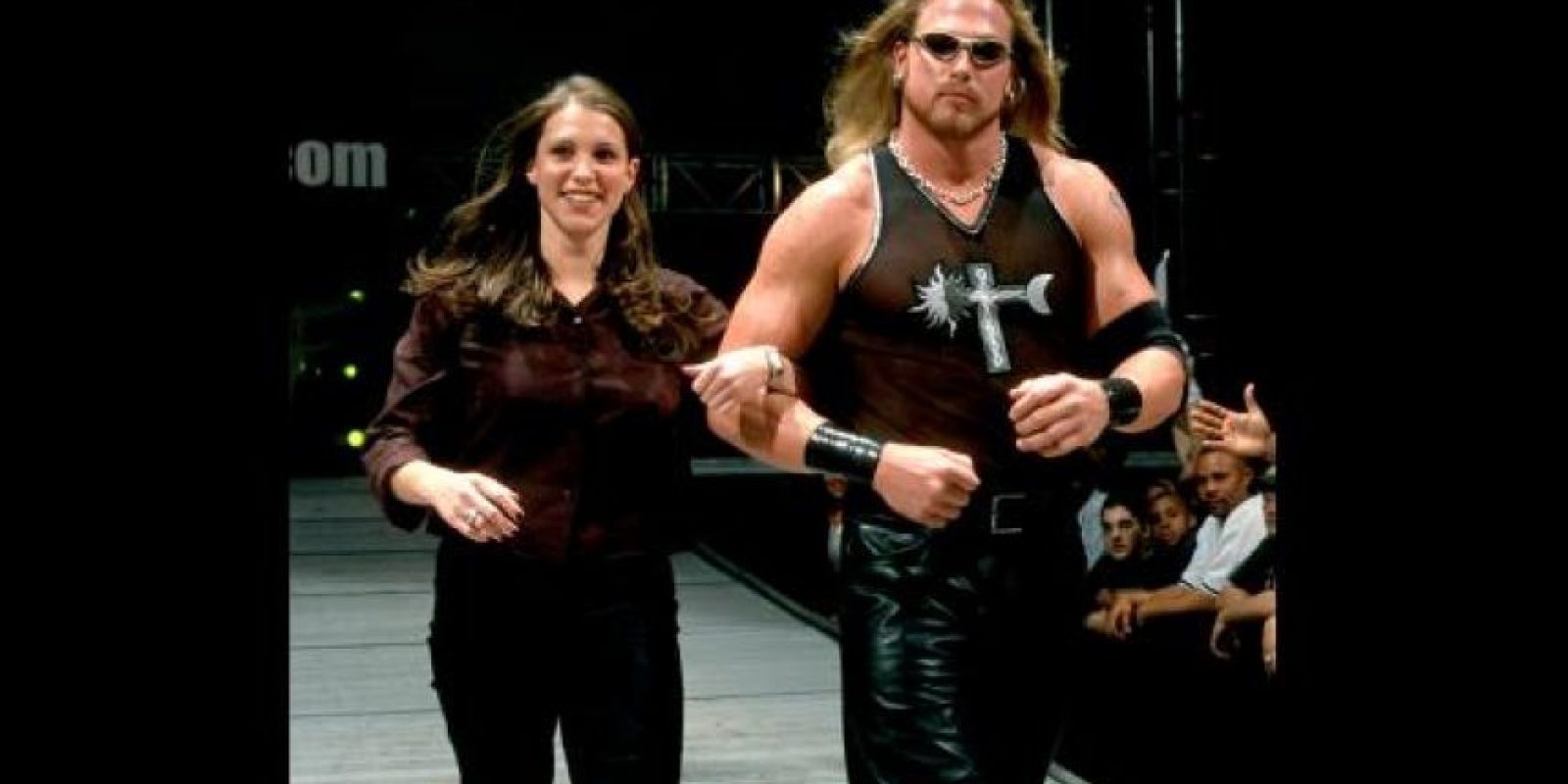 13. Stephanie McMahon y Test Foto:WWE