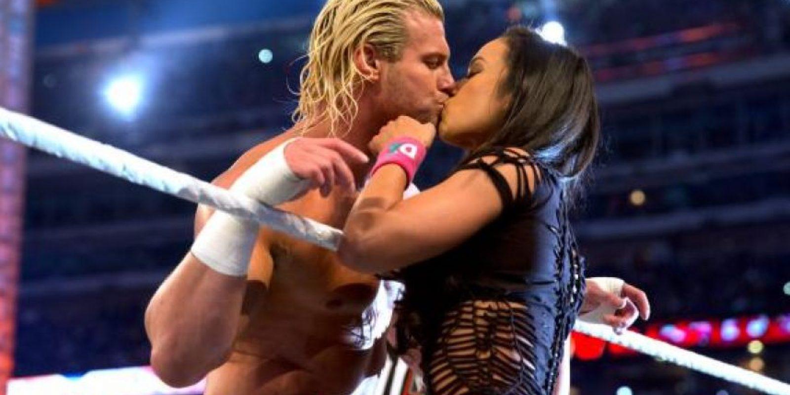 21. Dolph Ziggler y AJ Lee Foto:WWE