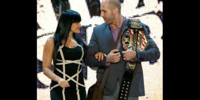 9. Aksana y Cesaro Foto:WWE