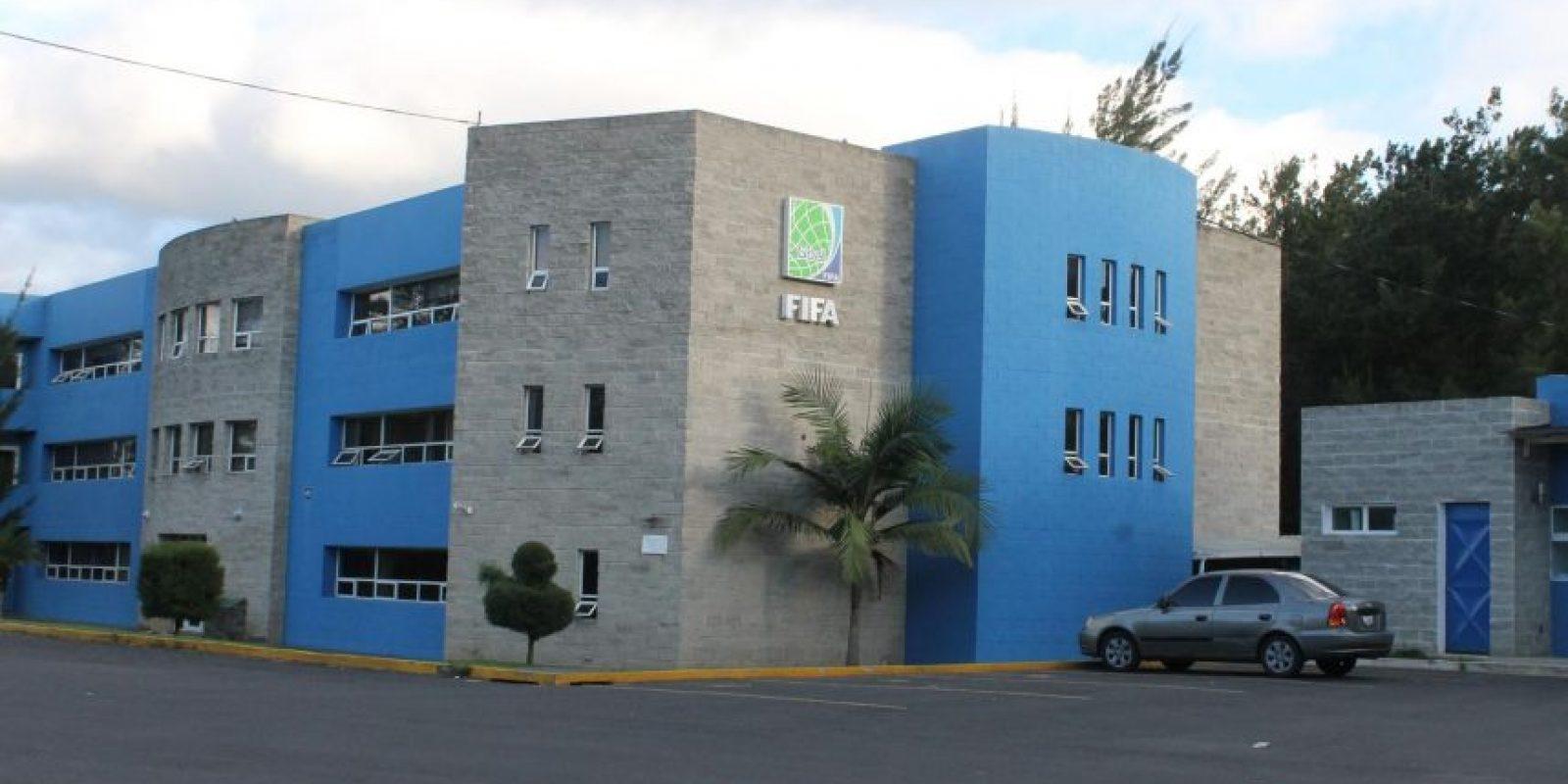 Las instalaciones de la Fedefut en zona 15. Foto:Publinews