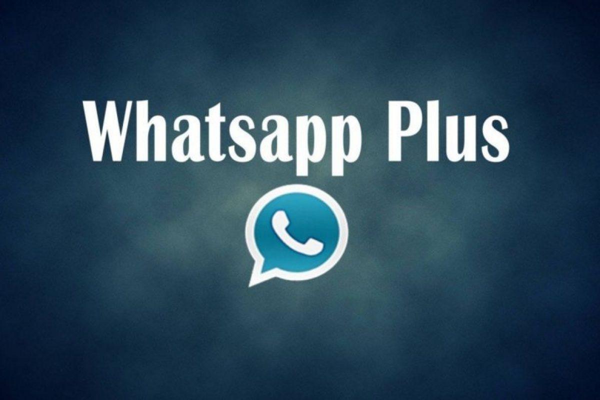 Es la más reciente versión de WhatsApp Plus. Foto:Vía Twitter.com