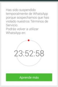 Los que eran usuarios de WhatsApp Plus fueron bloqueados en enero de 2015. Foto:Vía Twitter.com
