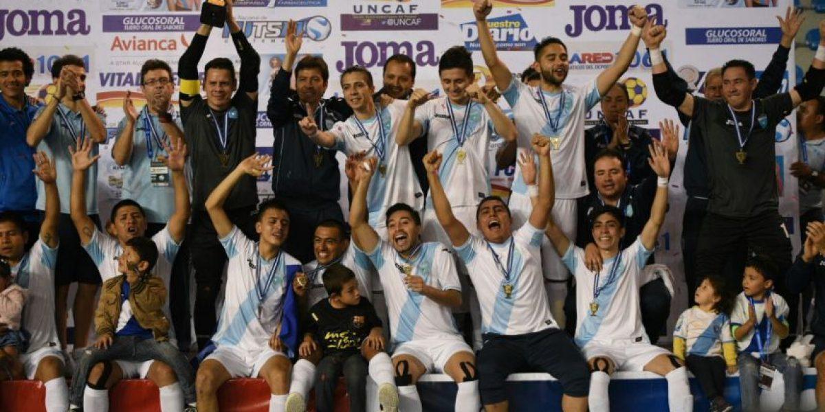 Resultado del partido Guatemala vs. Panamá, final Torneo eliminatorio de futsal UNCAF 2016