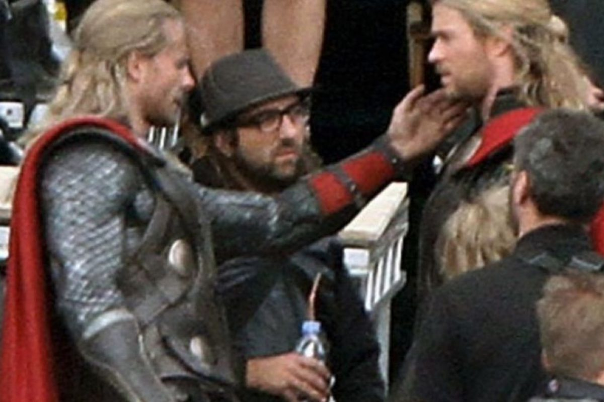 "El doble de Chris Hemsworth en ""Avengers: Age of Ultron"" Foto: Vía twitter.com/bobbyhanton"