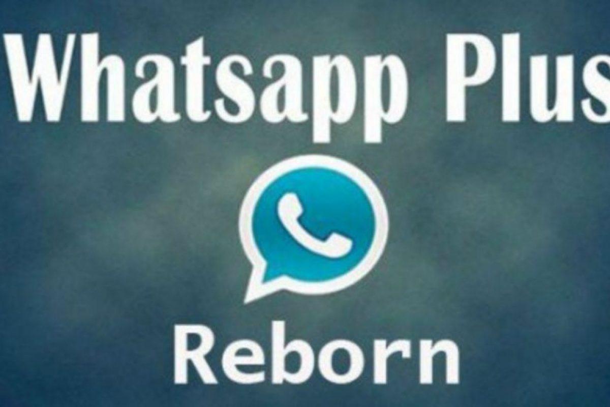WhatsApp Reborn les permite personalizar la aplicación. Foto:Vía Twitter.com