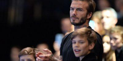 David Beckham hace de buen samaritano