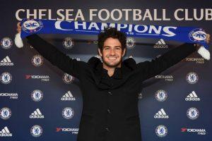 1. Alexandro Pato Foto:Vía facebook.com/ChelseaFC