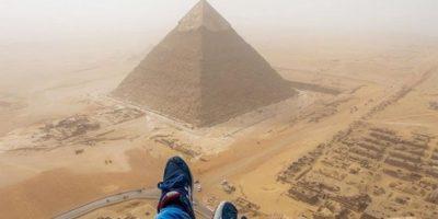 """Video. """"Cumple hazaña"""", pero es arrestado y expulsado de Egipto"""