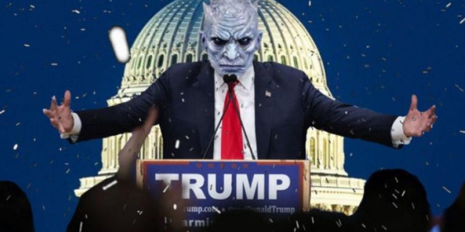 Las burlas a Donald Trump con Photoshop Foto:Vía Imgur / Reddit