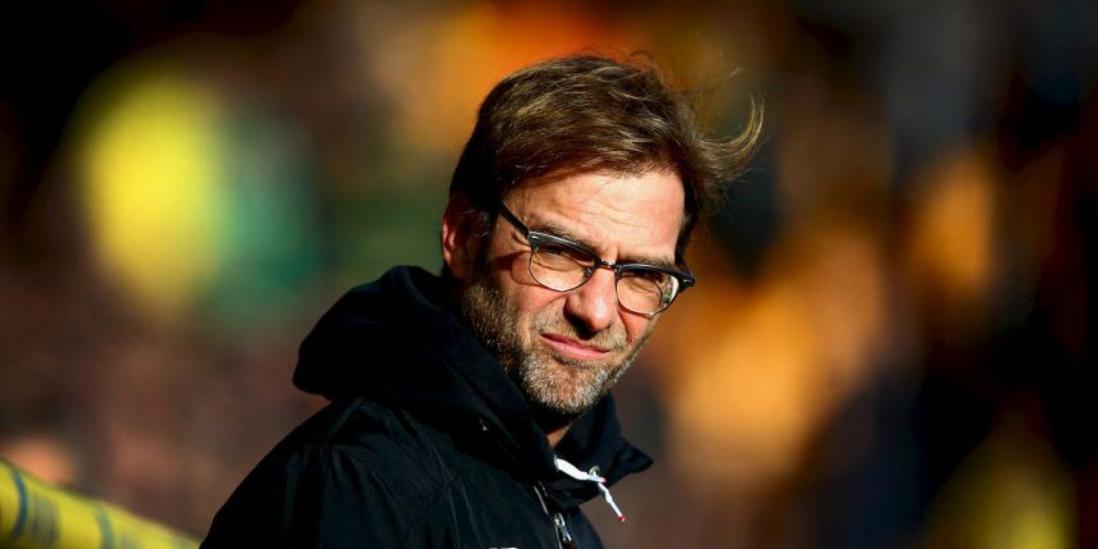 Al frente del Liverpool, el DT alemán recibe 13.9 millones de euros anuales. Foto:Getty Images