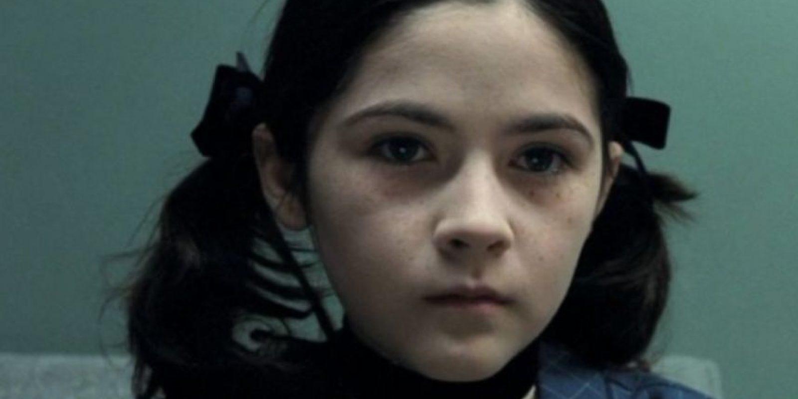 """Eso fue en 2009, en la película """"La Huérfana"""". Foto:vía Warner Bros"""