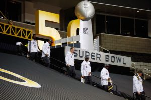 Parte del equipo de los Denver Broncos. Foto:AFP