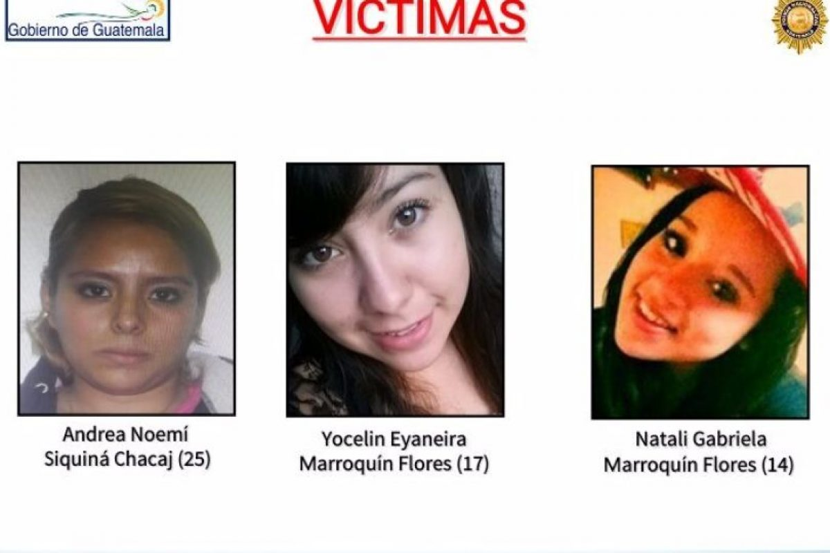 """Las víctimas """"colaboraban"""" con una pandilla, según la investigación policial. Foto:PNC"""