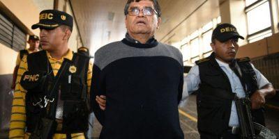El exalcalde de Chinautla Arnoldo Medrano detenido el 2 de febrero de 2016. Foto:Oliver de Ros