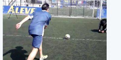 Hermanos Ruiz enseñan cómo lanzar el penalti que se volvió viral