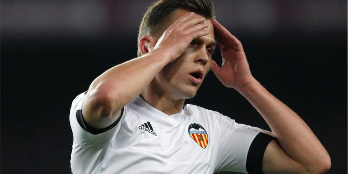 Afición del Barcelona le canta