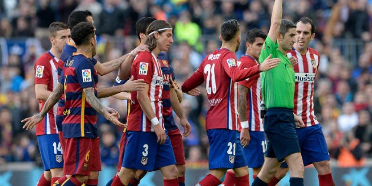 Filipe Luis suspendido tres partidos