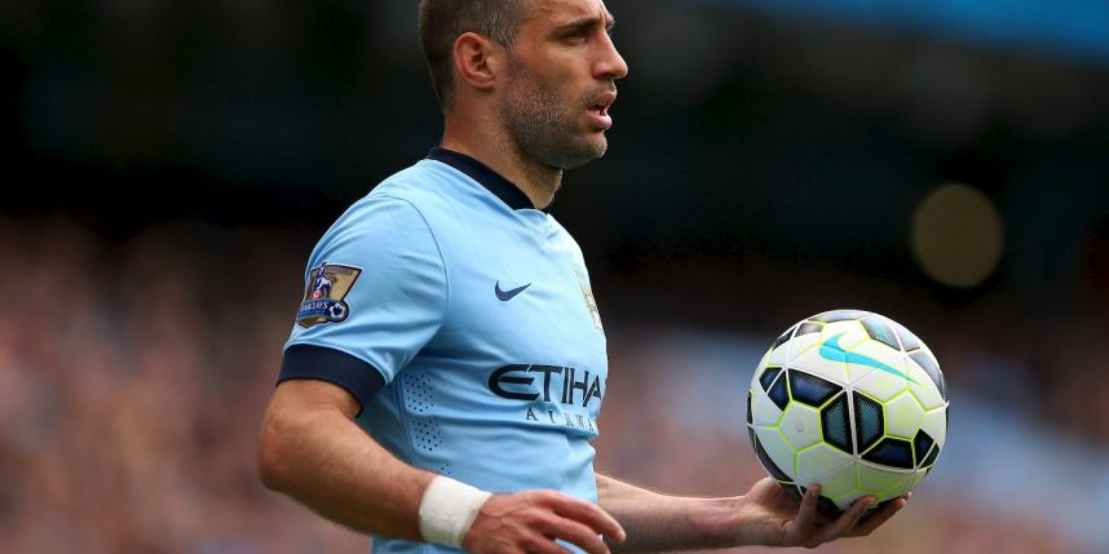 Sería el único defensa del City que el DT español dejaría en el cuadro titular. Foto:Getty Images