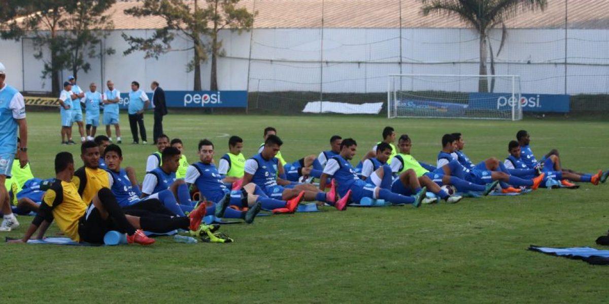 Selección Nacional culmina primera semana de trabajo