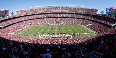 Panorámica del estadio de los 49ers de San Francisco. Foto:AP