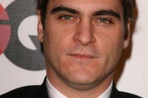La cicatriz de Joaquin Phoenix viene de nacimiento. Foto:vía Getty Images