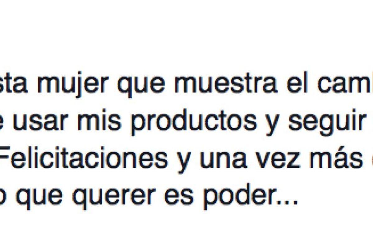 Afirma que en países como Colombia le compran más las mujeres. Foto:vía Facebook/Jorge Hané