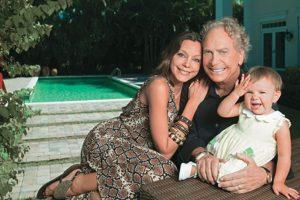 Está casado con Florencia Hané, exmodelo. Adoptó un niño con ella. Foto:vía Jet Set