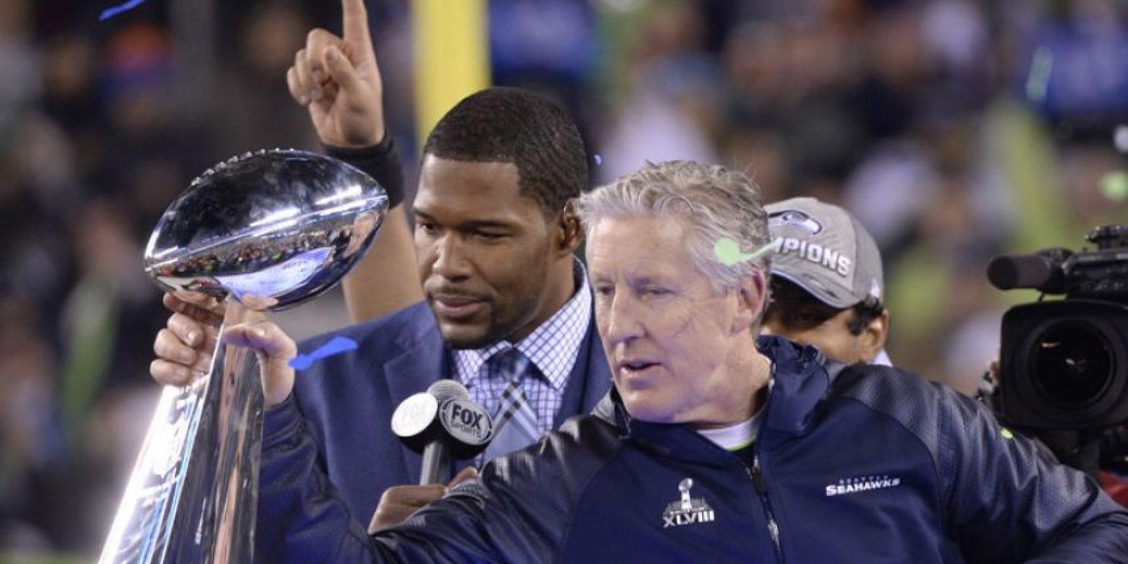 Los Seattle Seahawks fueron los campeones en 2014. Foto:AFP