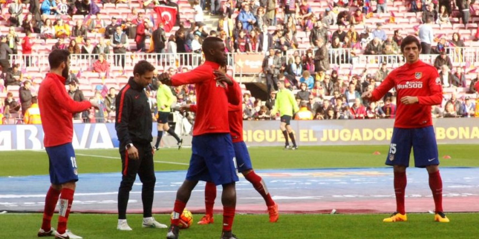 El colombiano llegó al Atlético de Madrid como refuerzo estelar a mediados del año pasado Foto:Ramón Mompió