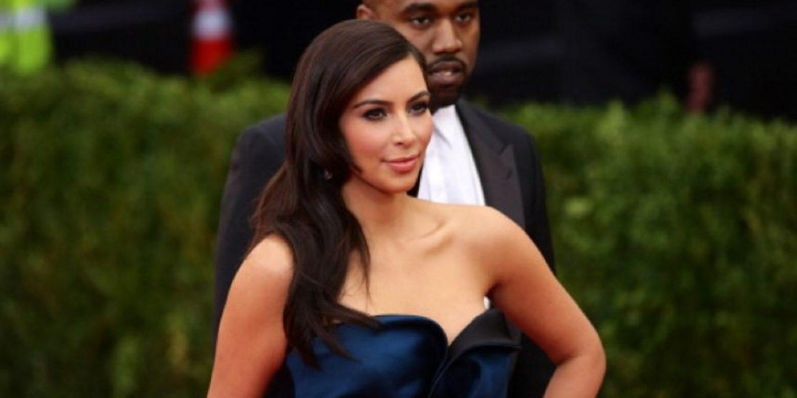 Kim está casada con el rapero Kanye West y tienen dos hijos. Foto:Getty Images
